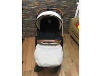 Oyster 2 city bronze complete pushchair set