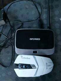 Andriod box and mouse for sale