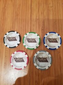 Fallout New Vegas Poker Chips