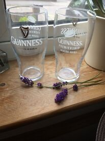 Guinness Pint Glasses CE 20oz