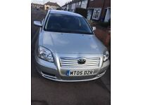 Low mileage Toyota Avensis for sale
