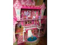 Huge dolls princess house