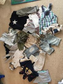 Boys 6-9 months clothes bundle