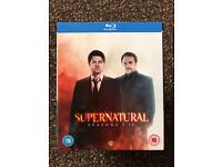 Supernatural season 1-10 bluray