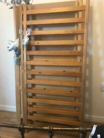 Cot good condition, dismantled and ready to collect