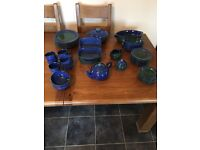 DENBY 45 piece dinner set