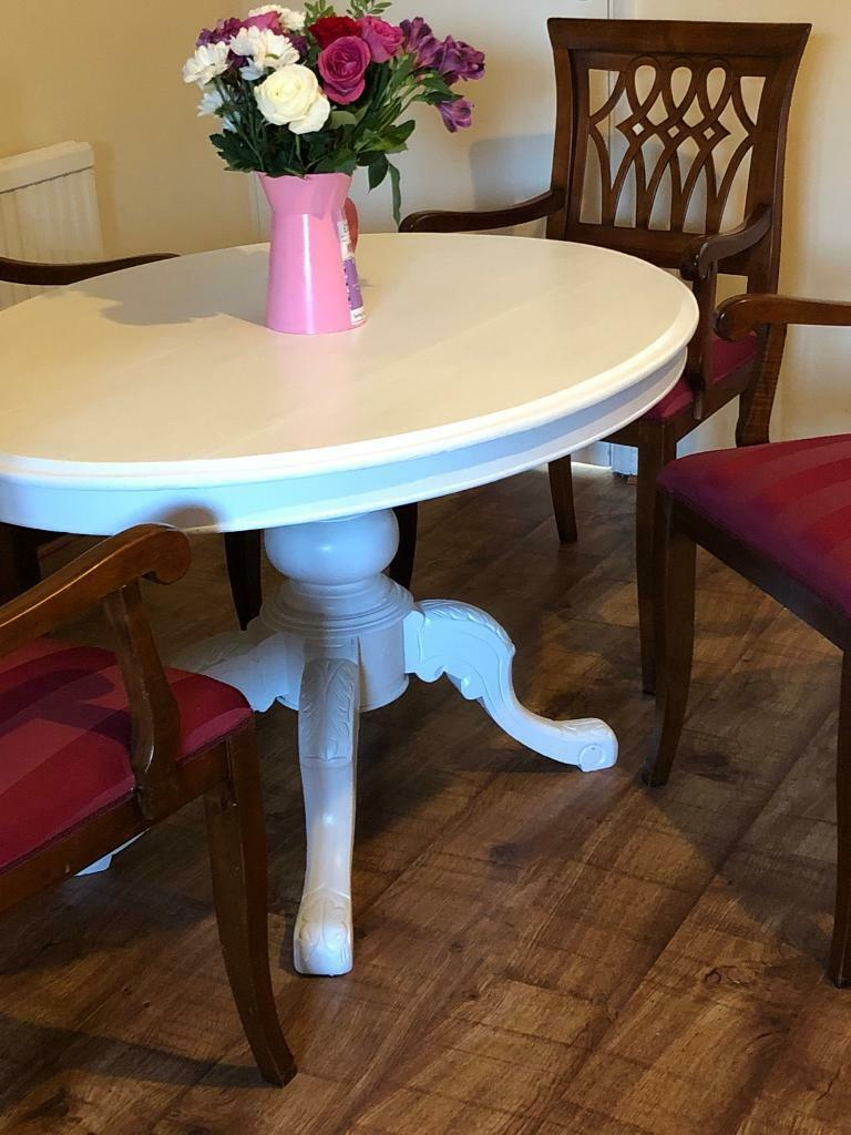 Old Farmhouse Dining Table And Chairs In Kidlington Oxfordshire