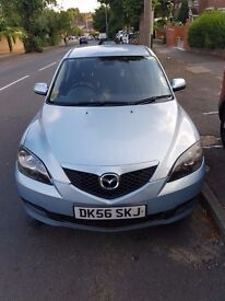 AUTO Silver mazda3 2007 in great condition. Mark and sratch from everyday use