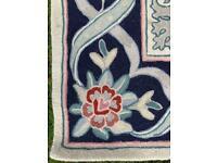 John Lewis wool chain stitch rug RRP £495