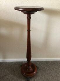 Solid Wood Lamp Pedastal