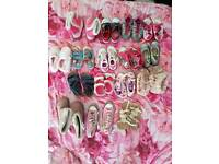 16 Girls Shoes and boots bundle Size 10 And 11 and 1x 12
