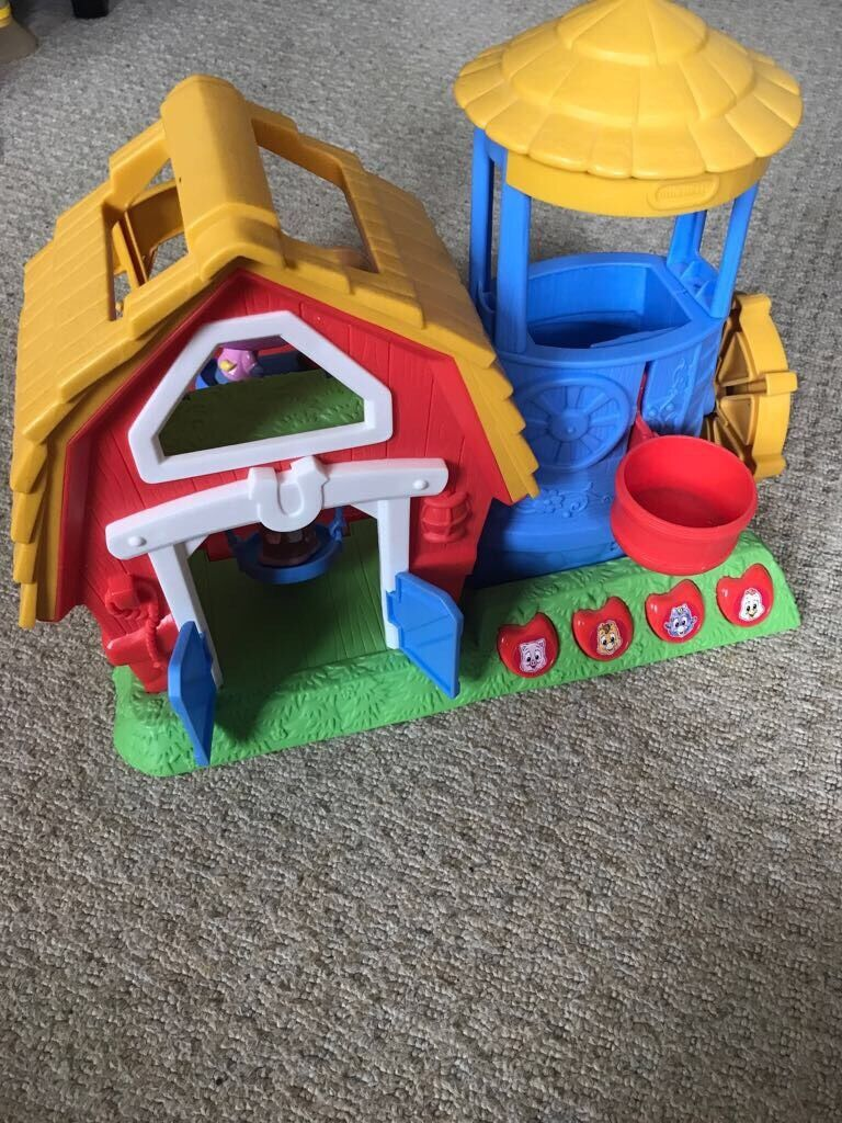 Little Tikes farm yardin Cwmbran, TorfaenGumtree - Little Tikes farm yard, with swing, sea saw, 3 animals & hats. A multi function toy for hours of fun for little ones!