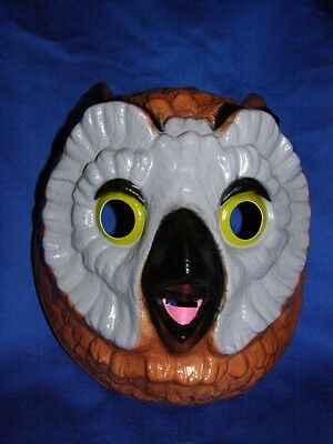 Owl Mask, Bigger & Better Eyes ! Perfect - Owl Mask