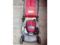 "Mountfield Honda 21""cut self drive lawnmower"