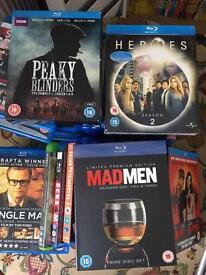 Blu Rays bundle. 35 plus 4 box sets