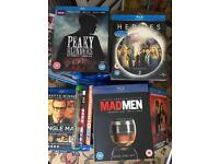 Blu Rays bundle. 35 plus 4 box sets