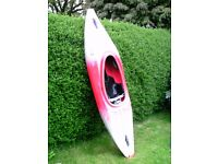 Kayak: Tek Sport 240 Xcess . Good general purpose kayak for beginner to intermediate use on