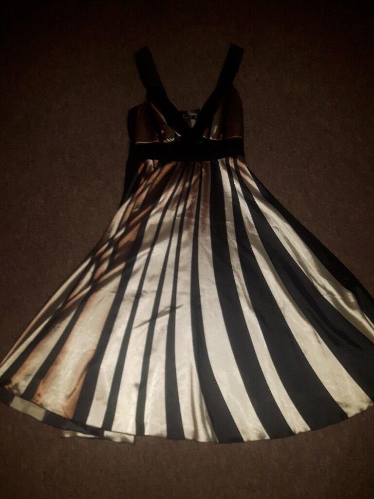 Vila striped dress