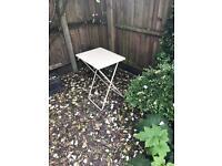 Small metal garden table