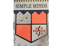 Simple minds Saturday 3rd June