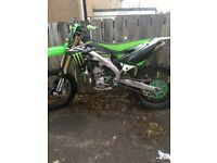 Kxf 250 2014 mint condition (not crf yzf rmz ktm)
