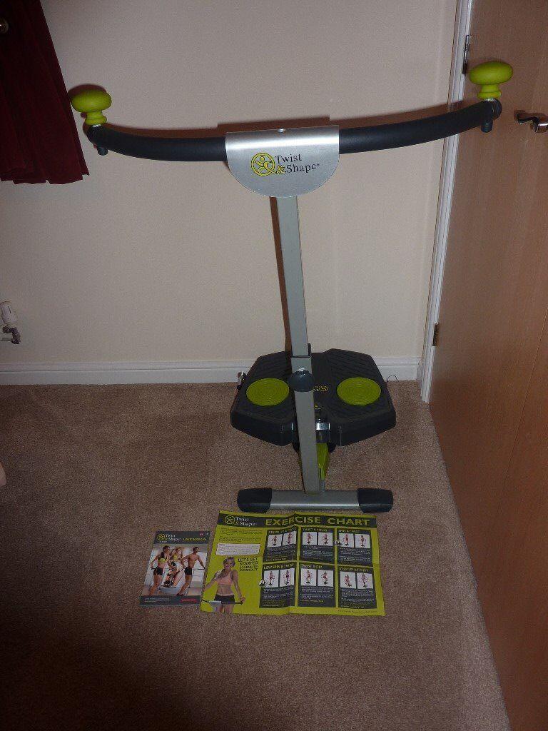 Twist & Shape Exercise Machine