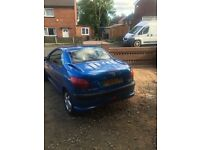 Peugeot 206 cc Lovely car in great condition looking for a quick sale