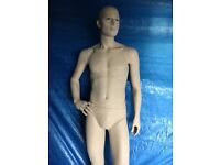 Full male mannequin with stand