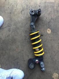 Gsxr 600cc rear shock with linkage