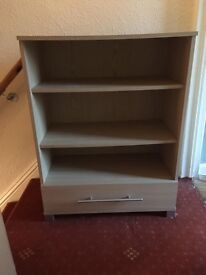 Shelving Unit with Drawer (LOW PRICE FOR QUICK SALE)