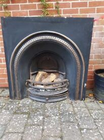 Repro Victorian fireplace
