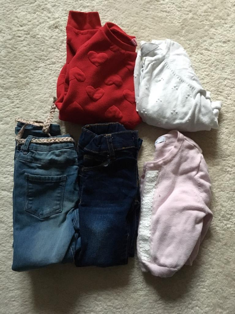 Bundle Of girl's clothes size 3-4
