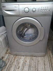 silver beko 1200 spin 5 kg load free local delivery allelectricals