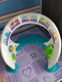 reduced for quick sale Fisher-Price Bright Beats Smart Touch Play Space Playset