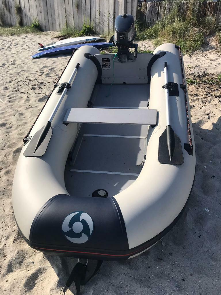 Inflatable Dinghy - Yamaha 300S and 4hp engine | in Gourock, Inverclyde |  Gumtree