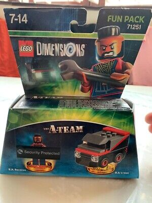 Lego Dimensions The A Team Fun Pack 71251 New & Sealed - Rare retired Set
