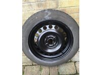Renault clio steel rim with tyre. FREE!!!!!! Colection in person!
