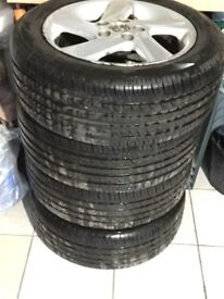 Tyres and alloy wheels Mazda 6