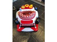 Baby car walker / rocker