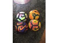 8 premier league footballs size 5