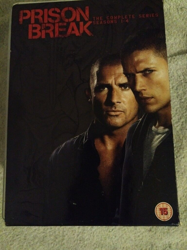 Prison Break 1-4 DVD - £10
