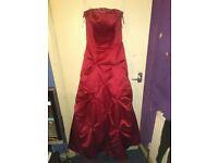 Bridesmaid dress size 10