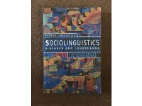 Sociolinguistics - A Reader and Coursebook