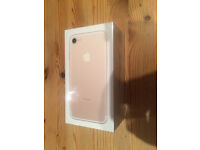 APPLE iPHONE 7 GOLD 256GB VODAFONE LOCKED BRAND NEW AND UNOPENED AT BARGIN PRICE