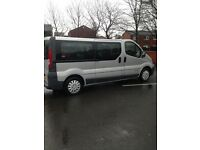 (FOR QUICK SALE ) RENAULT TRAFIC 9 seater minibus mint condition
