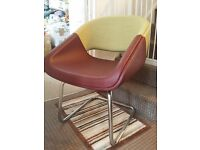 Retro Chair Leather / Material.