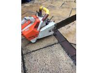 Stihl chainsaw 07s petrol saw