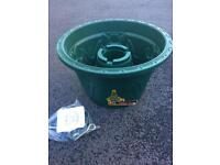 Whitefurze Christmas tree buckets job lot