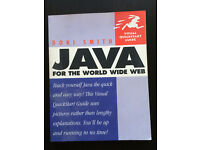 JAVA for the wold wide web Dori Smith