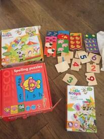 Learning bundle and jigsaws.
